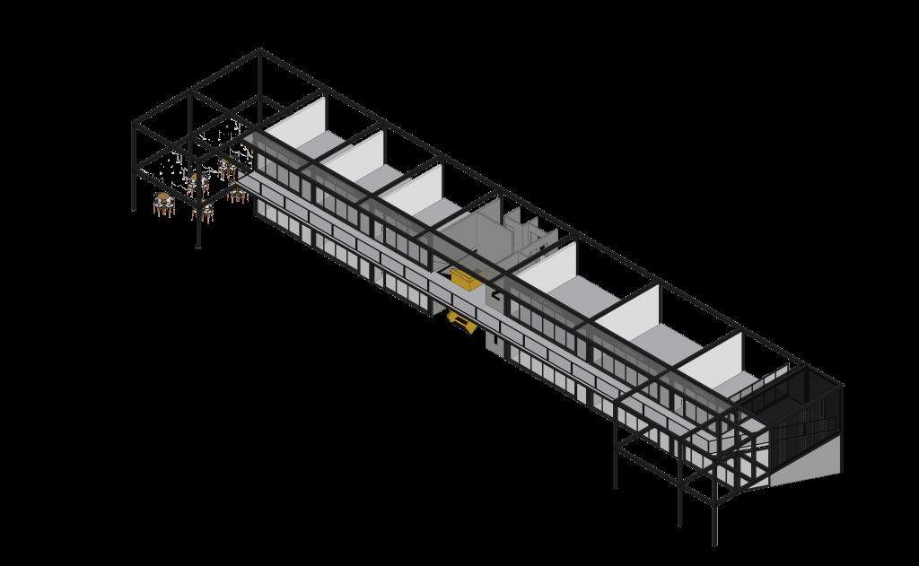 Paseo Alcázar_Axonométrica